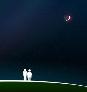 夜空と恋人たち